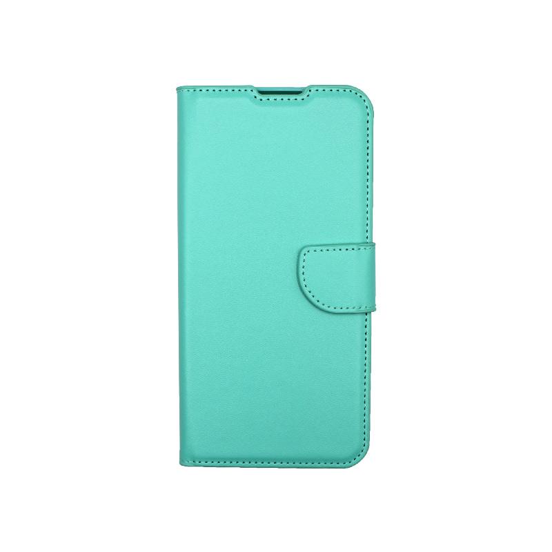Θήκη Xiaomi Redmi 9C Wallet-τιρκουάζ