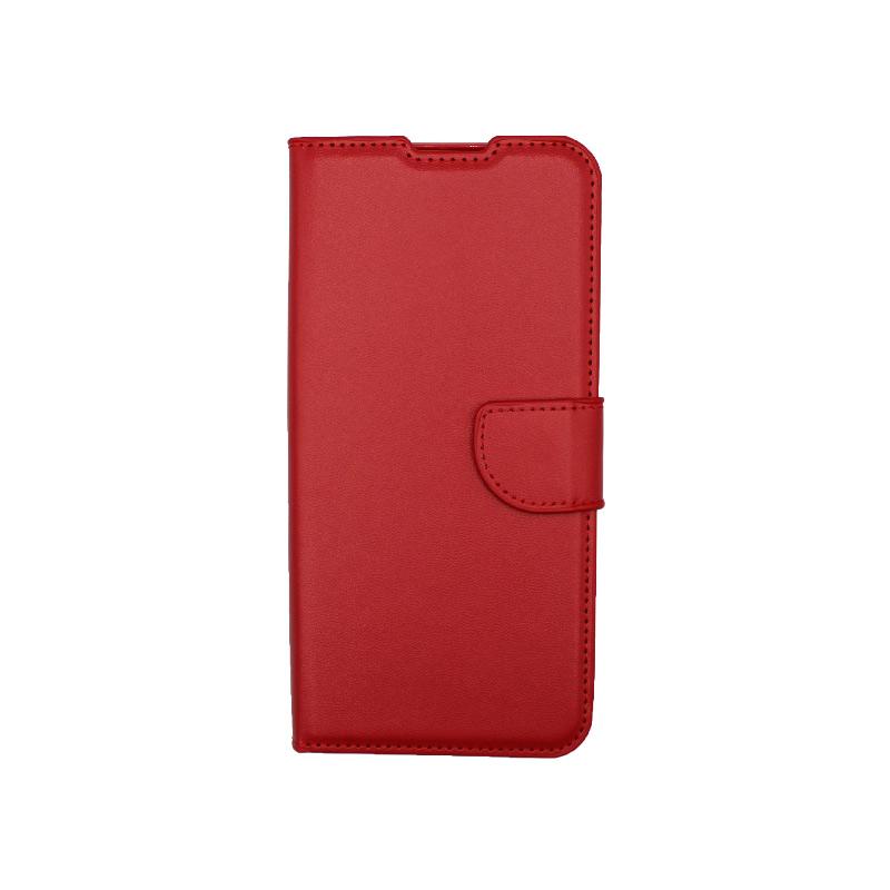 Θήκη Xiaomi Redmi 9C Wallet-κόκκινο