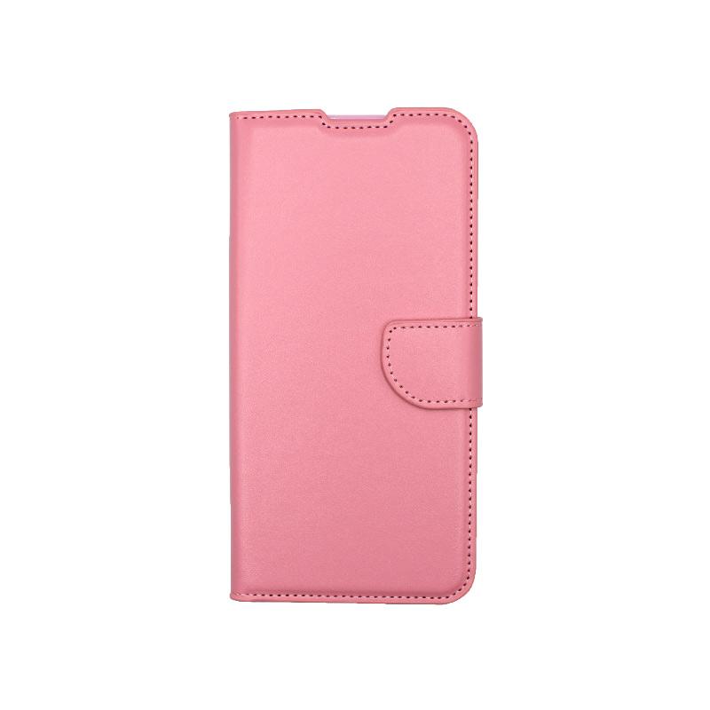 Θήκη Xiaomi Redmi 9C Wallet-ροζ