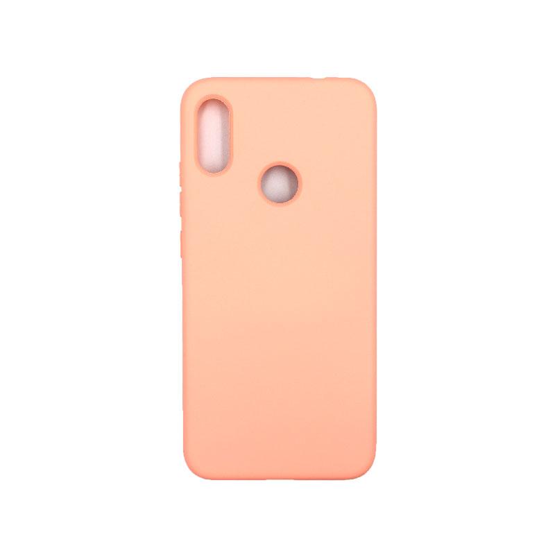 Θήκη Xiaomi Redmi Note 7 / Note 7 Pro Silky and Soft Touch Silicone πορτοκαλιι