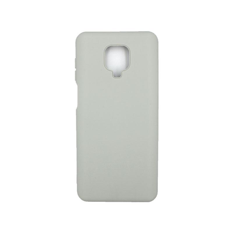 Θήκη Xiaomi Redmi Note 9S / Note 9 Pro / Note 9 Pro Max Silky and Soft Touch Silicone γκρι 1