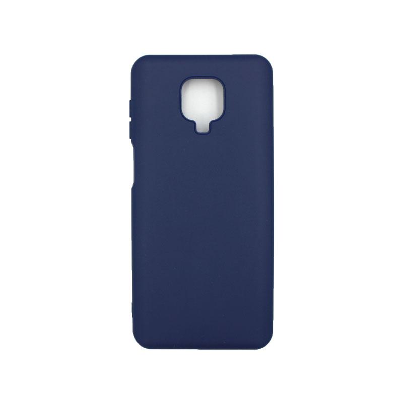 Θήκη Xiaomi Redmi Note 9S / Note 9 Pro / Note 9 Pro Max Silky and Soft Touch Siliconee μπλε 1