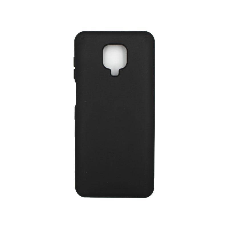 Θήκη Xiaomi Redmi Note 9S / Note 9 Pro / Note 9 Pro Max Silky and Soft Touch Siliconee μαύρο 1