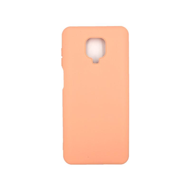 Θήκη Xiaomi Redmi Note 9S / Note 9 Pro / Note 9 Pro Max Silky and Soft Touch Siliconee πορτοκαλί 1