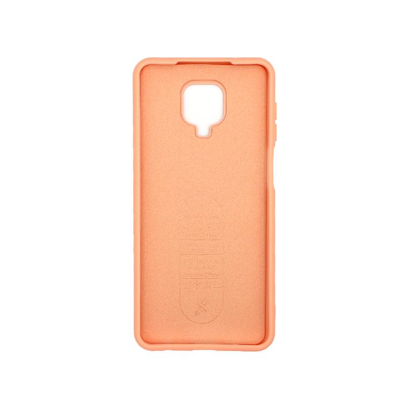 Θήκη Xiaomi Redmi Note 9S / Note 9 Pro / Note 9 Pro Max Silky and Soft Touch Siliconee πορτοκαλί 2