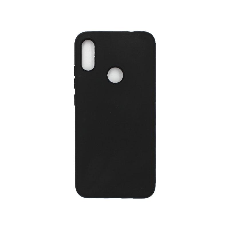 Θήκη Xiaomi Redmi Note 7 / Note 7 Pro Silky and Soft Touch Silicone μαυρο