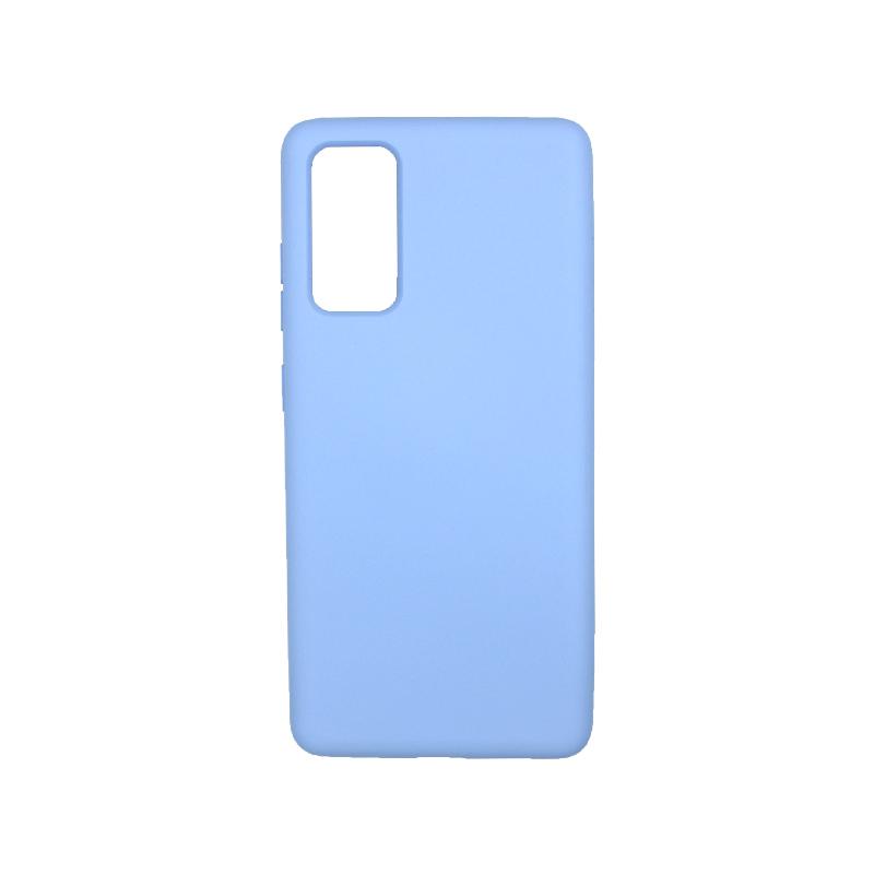 Θήκη Samsung Galaxy S20 FE Silky and Soft Touch Silicone λιλά-1