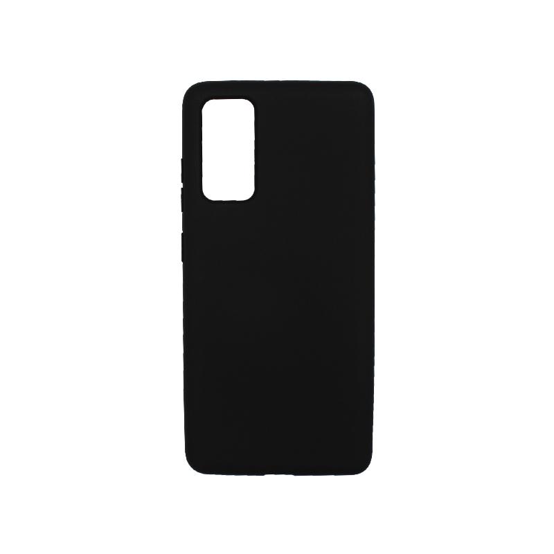 Θήκη Samsung Galaxy S20 FE Silky and Soft Touch Silicone μαύρο-1