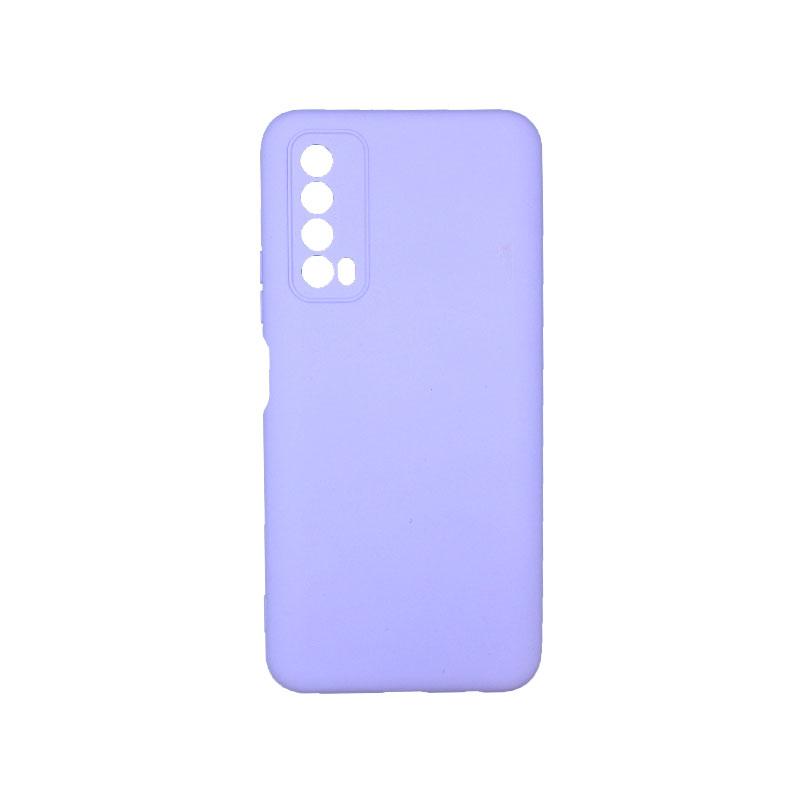 Θήκη Huawei P Smart 2021 Silky and Soft Touch Silicone μωβ 1