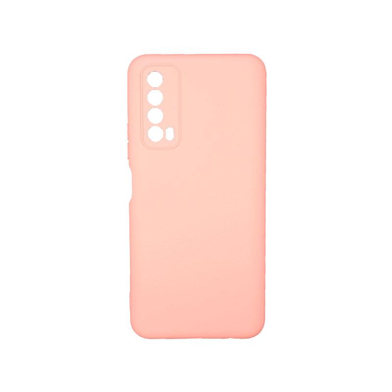Θήκη Huawei P Smart 2021 Silky and Soft Touch Silicone ροζ 1