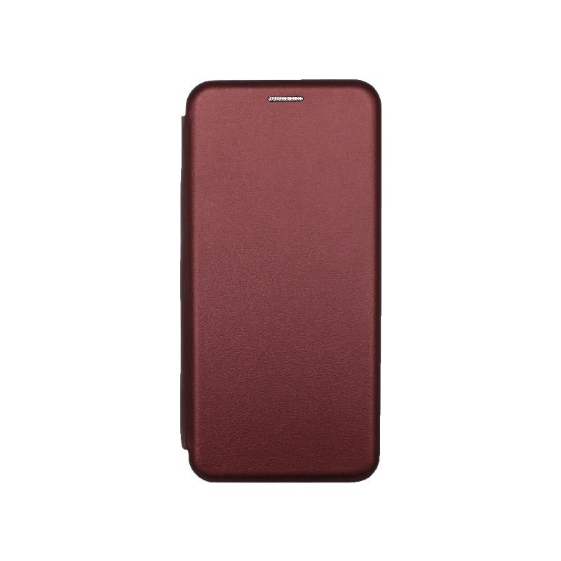 Θήκη Samsung Galaxy S20 FE Book Μπορντό-1