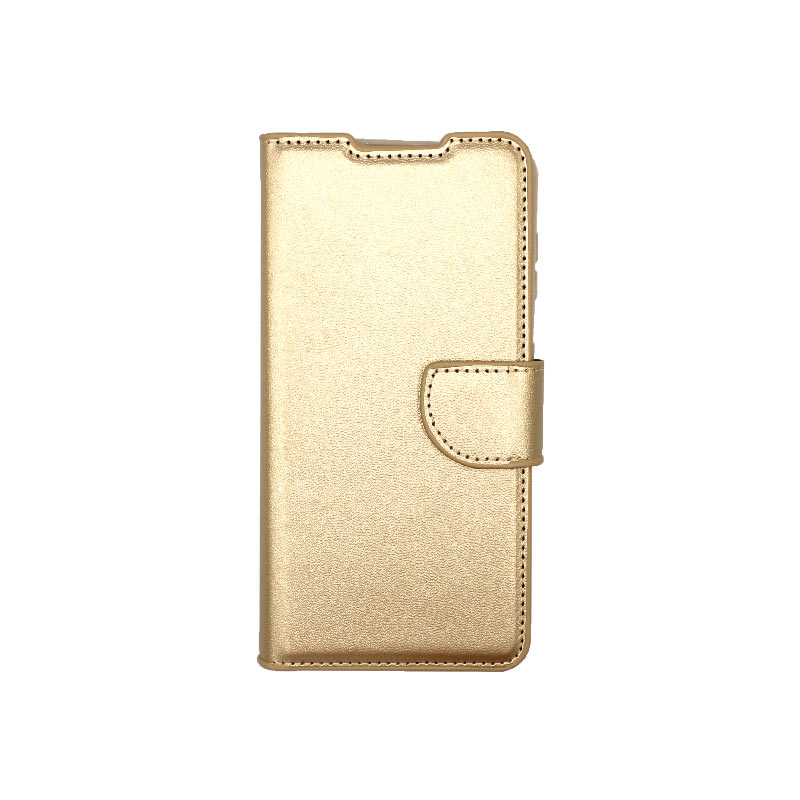Θήκη Samsung Galaxy S21 Wallet Χρυσό-1