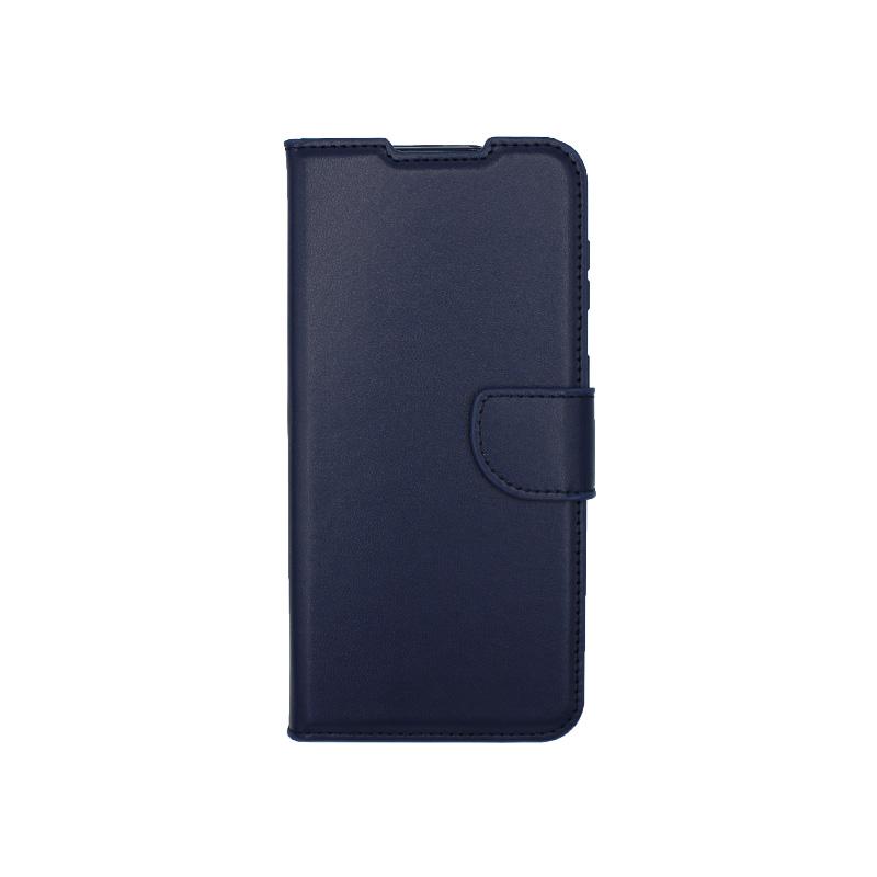 Θήκη Samsung Galaxy S21 Plus Wallet Σκούρο Μπλε-1