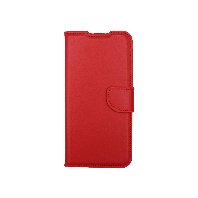 Θήκη Samsung Galaxy S21 Plus Wallet Κόκκινο-1
