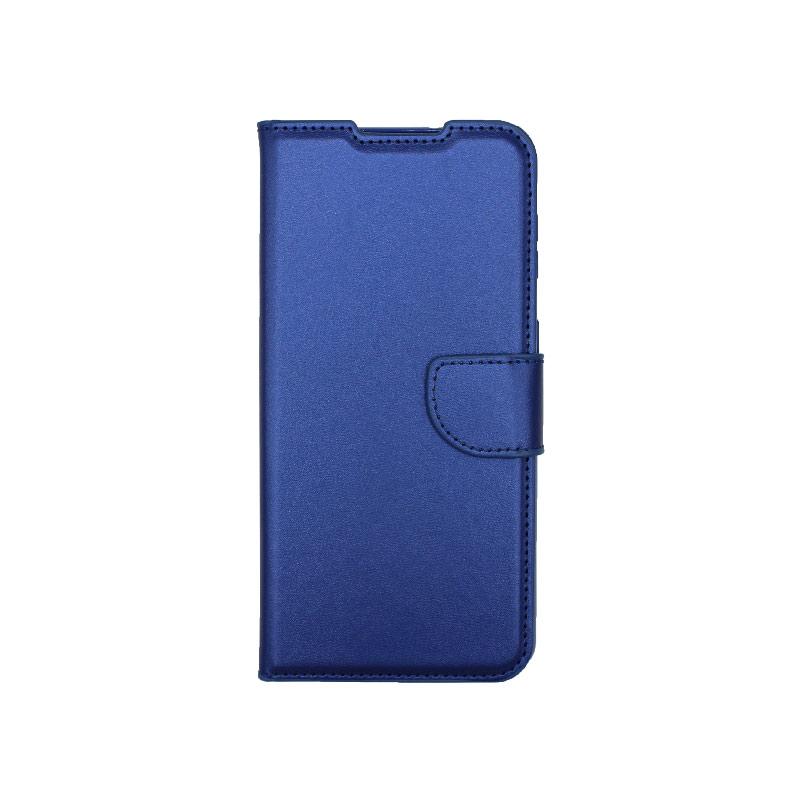 Θήκη Samsung Galaxy S21 Plus Wallet Μπλε-1
