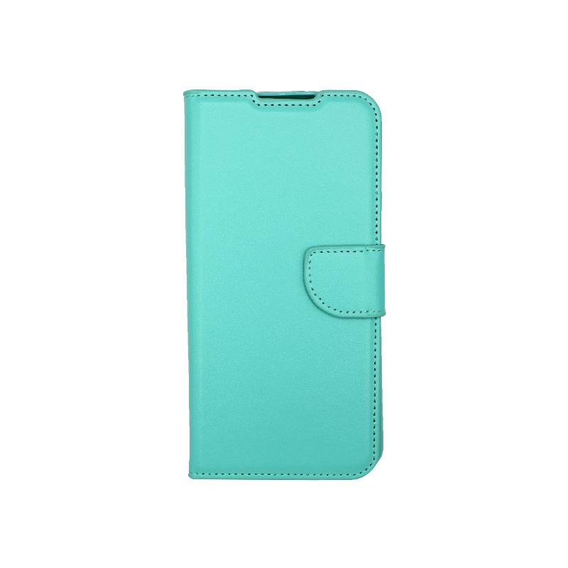Θήκη Samsung Galaxy S21 Wallet Τιρκουάζ-1