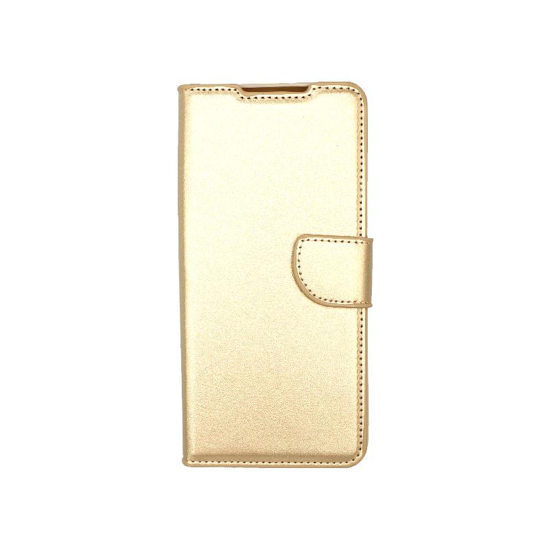 Θήκη Samsung Galaxy S21 Ultra Wallet Χρυσό-1