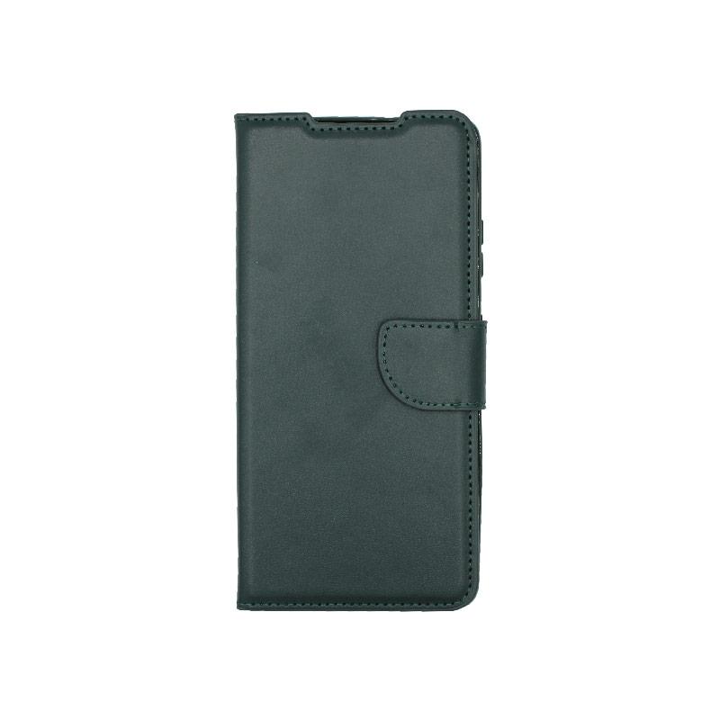 Θήκη Samsung Galaxy S21 Ultra Wallet Πράσινο-1