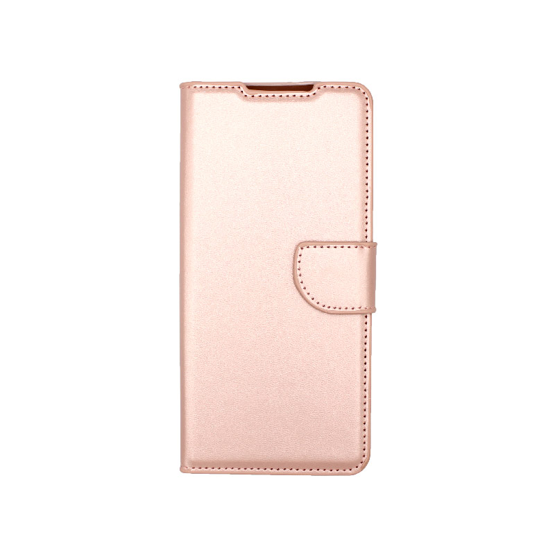 Θήκη Samsung Galaxy S21 Ultra Wallet Ροζ Χρυσό-1