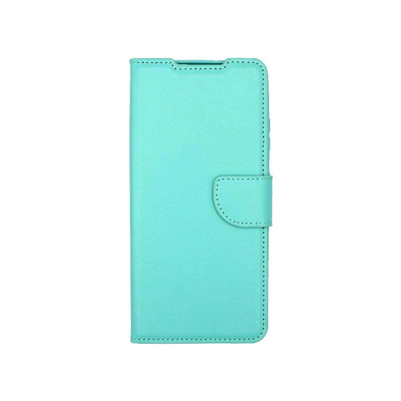 Θήκη Samsung Galaxy S21 Ultra Wallet Τιρκουάζ-1