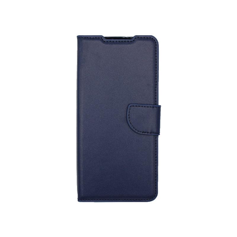 Θήκη Samsung Galaxy S21 Ultra Wallet Σκούρο Μπλε-1