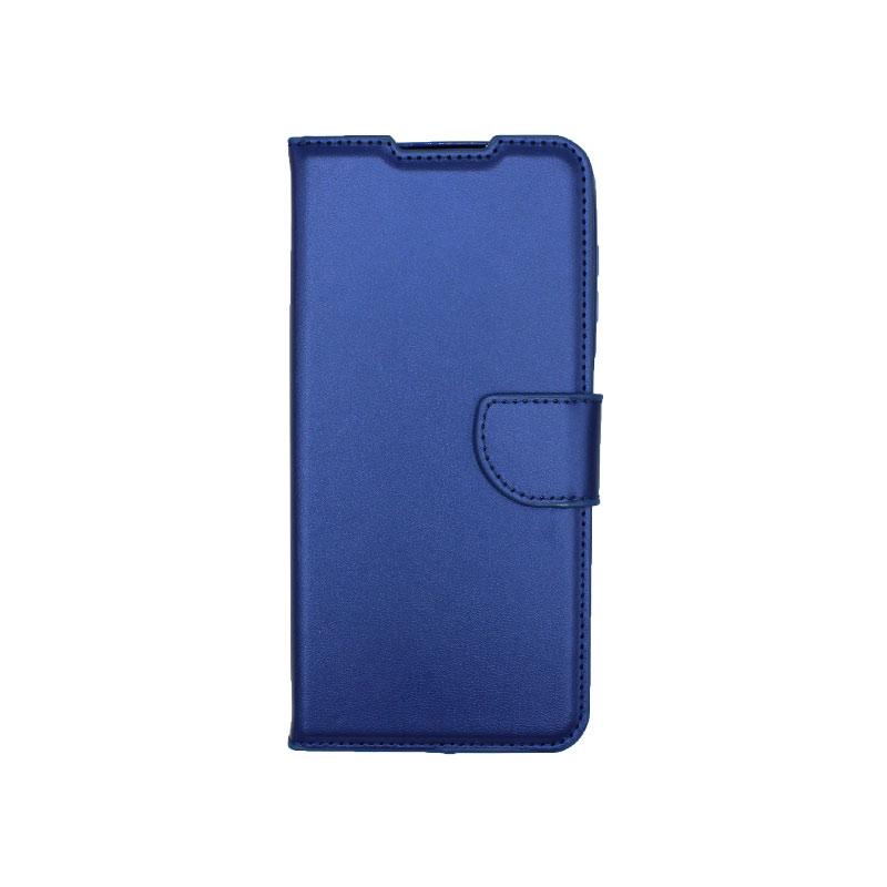 Θήκη Samsung Galaxy A12 Wallet Μπλε-1