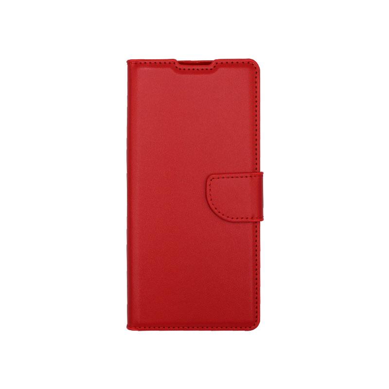 Θήκη Huawei Mate 40 Pro Wallet Κόκκινο-1