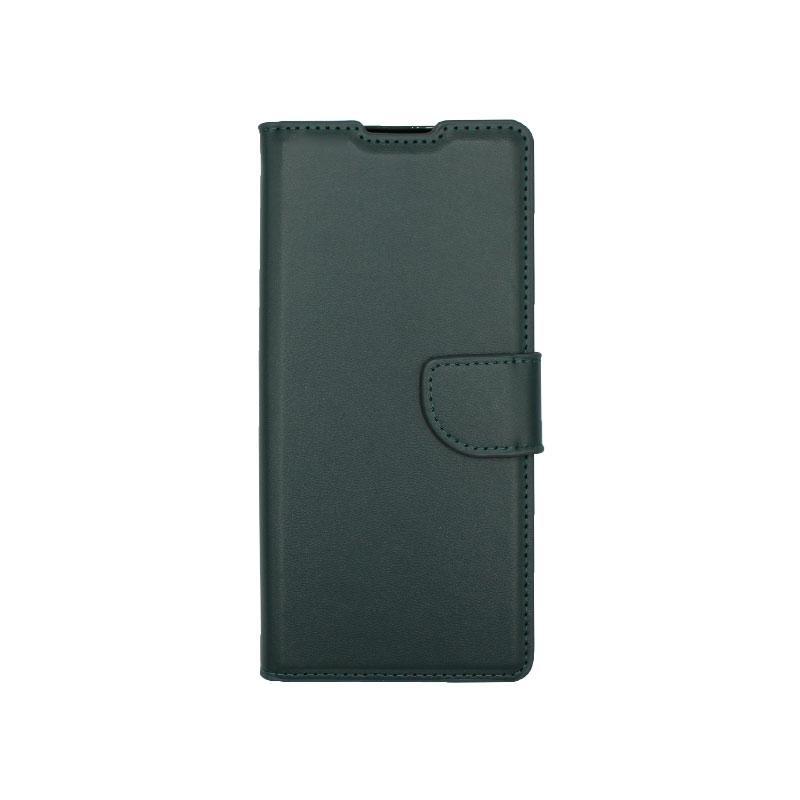 Θήκη Huawei Mate 40 Pro Wallet Πράσινο-1