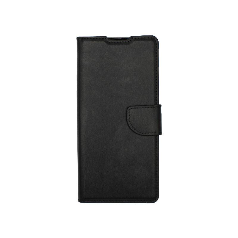 Θήκη Huawei Mate 40 Pro Wallet Μαύρο-1