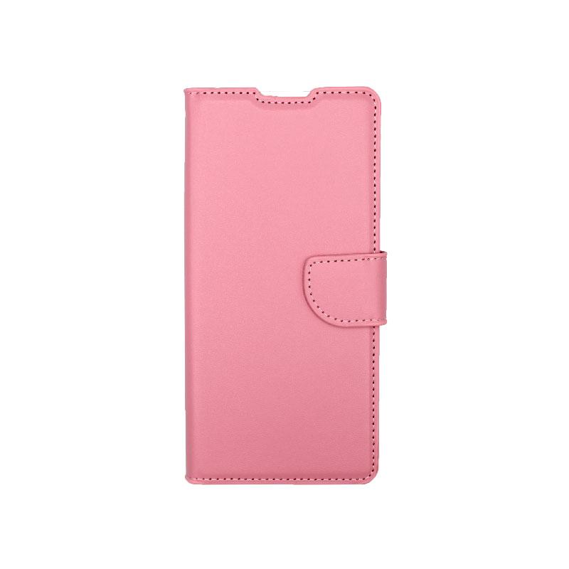 Θήκη Huawei Mate 40 Pro Wallet Ροζ-1