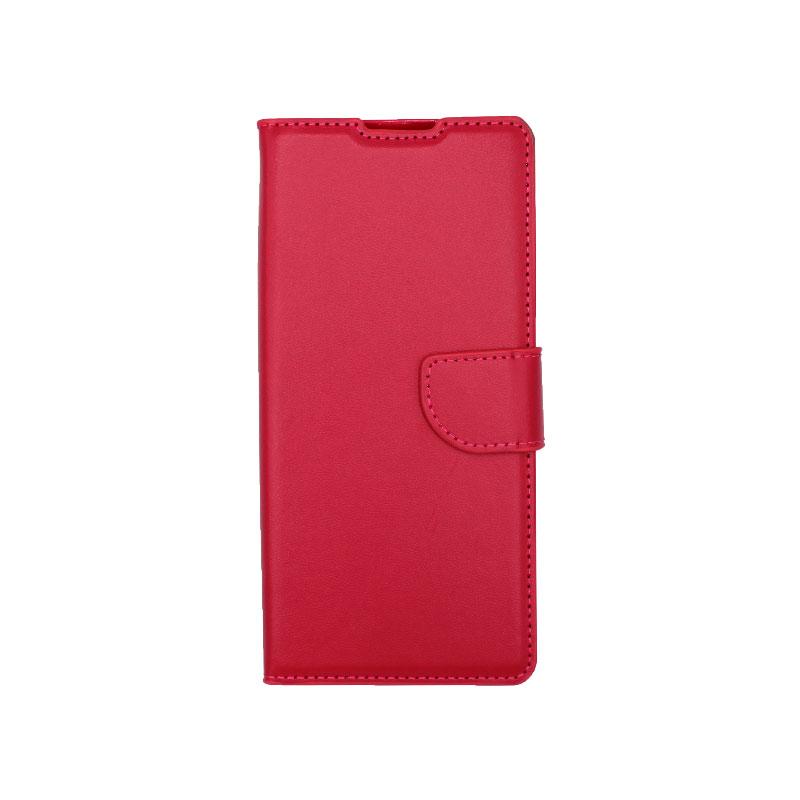 Θήκη Huawei Mate 40 Pro Wallet Φούξια-1