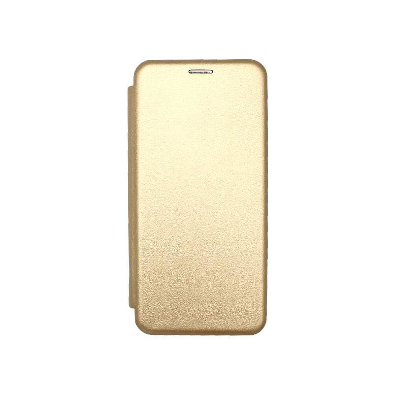 Θήκη Xiaomi Mi 10 Lite Book Χρυσό-1