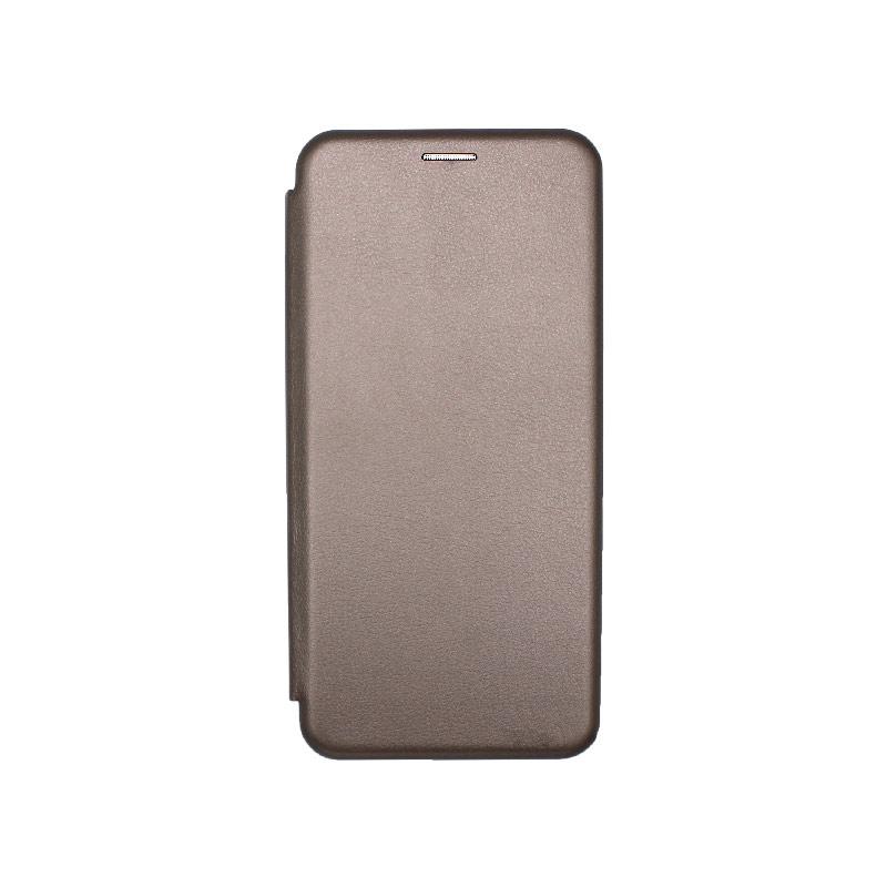 Θήκη Xiaomi Mi 10 Lite Book Γκρι-1