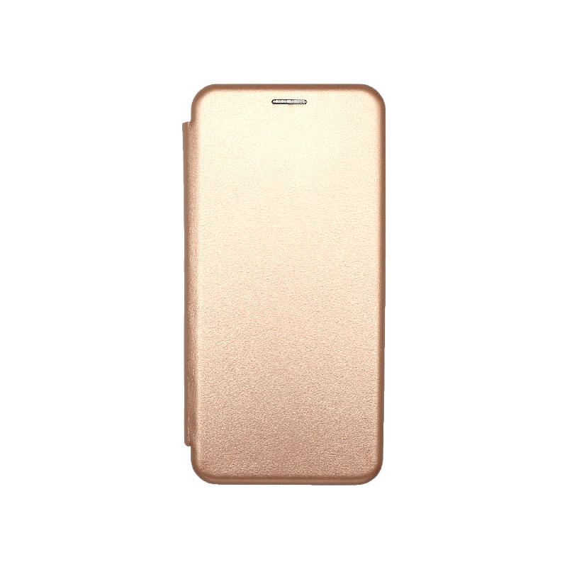 Θήκη Xiaomi Mi 10 Lite Book Ροζ Χρυσό-1