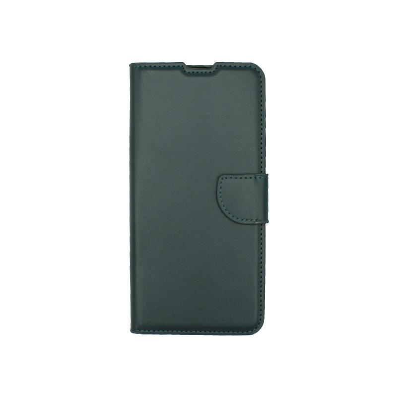 Θήκη Samsung Galaxy A32 5G Wallet Πράσινο-1