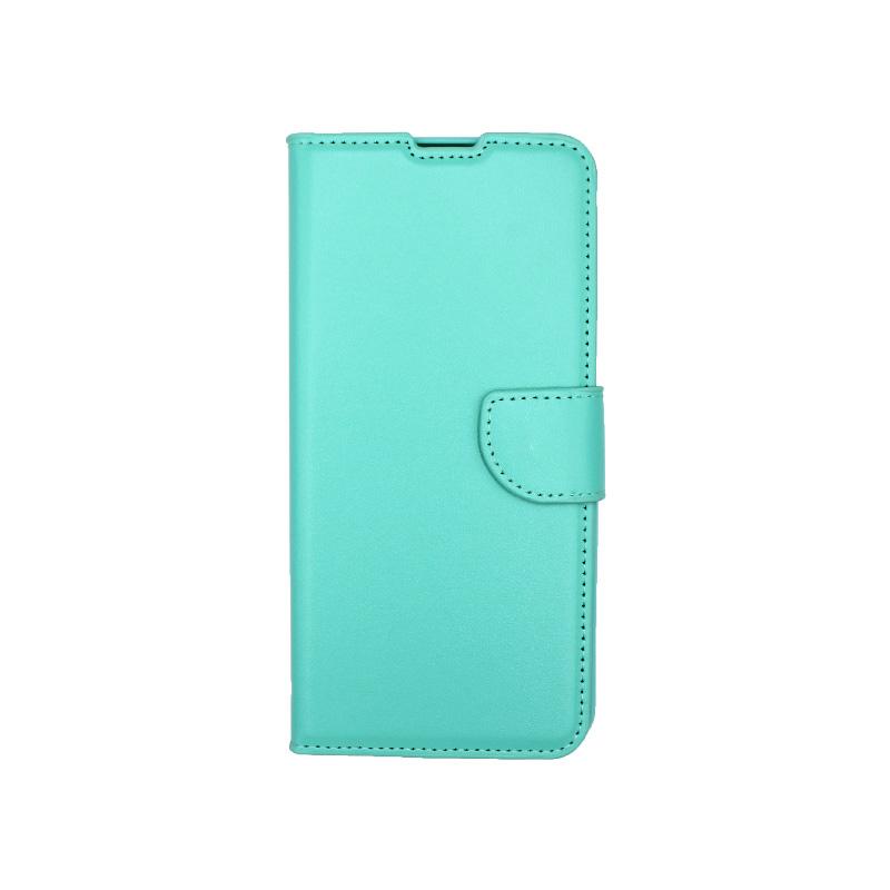 Θήκη Samsung Galaxy A32 5G Wallet Τιρκουάζ-1