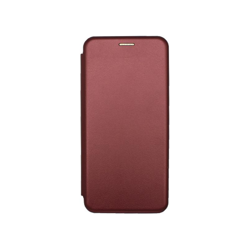 Θήκη Samsung Galaxy A42 5G Book Μπορντό-1