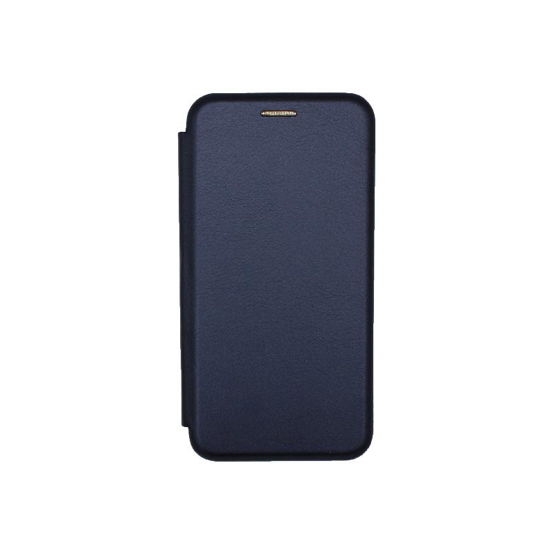 Θήκη Samsung Galaxy S10e Book Σκούρο Μπλε-1