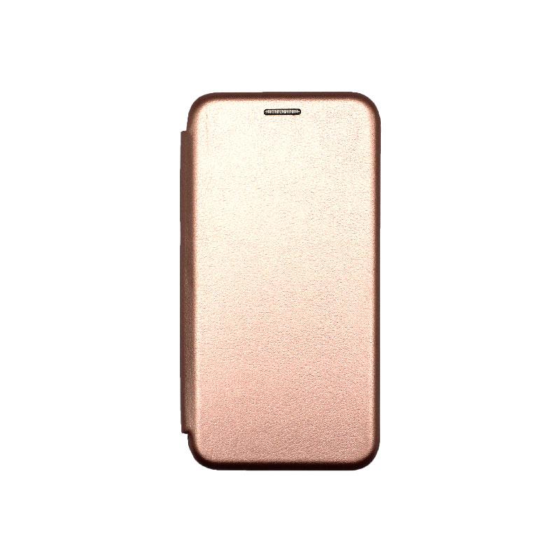 Θήκη Samsung Galaxy S10e Book Ροζ Χρυσό-1