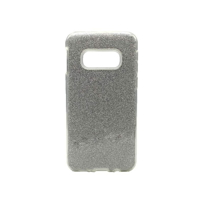 Θήκη Samsung Galaxy S10e Glitter Ασημί