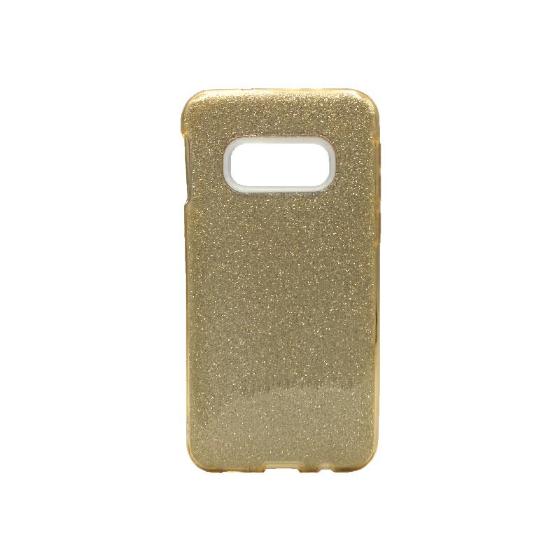 Θήκη Samsung Galaxy S10e Glitter Χρυσό