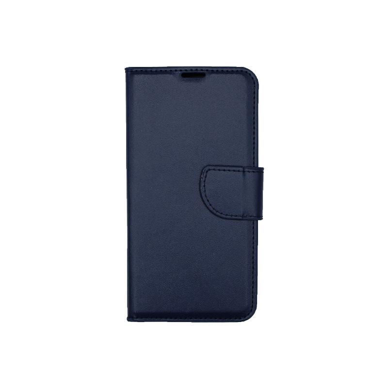 Θήκη Samsung Galaxy S10e Wallet Σκούρο Μπλε-1