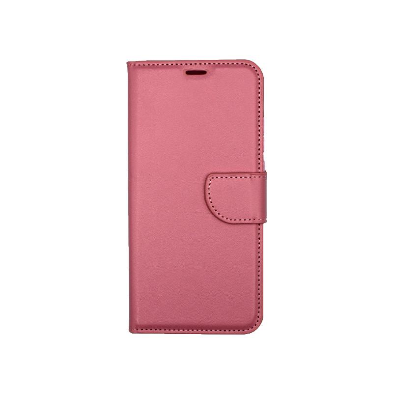 Θήκη Honor 9X Lite Wallet ροζ