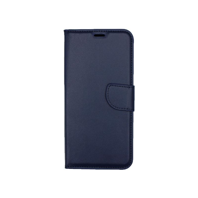 Θήκη Honor 9X Lite Wallet σκούρο μπλε