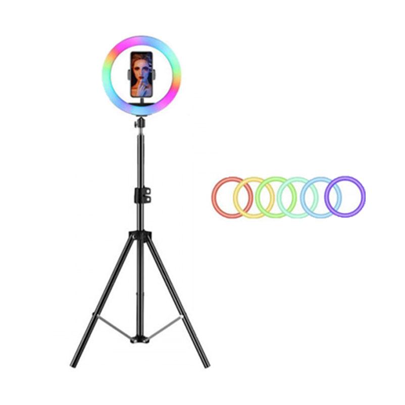 RGB Led Soft Ring Light 30cm με Τρίποδο 2