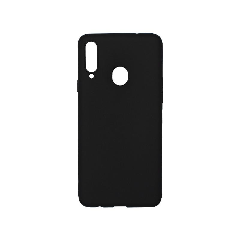 Θήκη Samsung Galaxy A20s Σιλικόνη μαύρο
