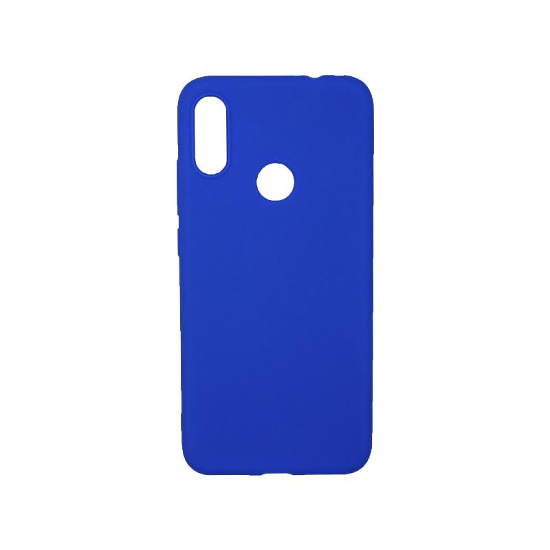 Θήκη Xiaomi Redmi Note 7 / Note 7 Pro Σιλικόνη μπλε
