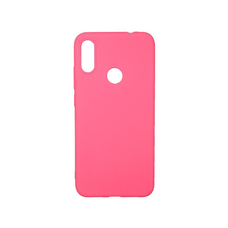 Θήκη Xiaomi Redmi Note 7 / Note 7 Pro Σιλικόνη ροζ