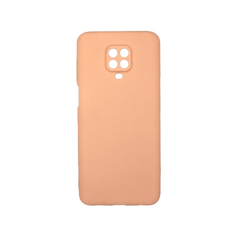 Θήκη Xiaomi Redmi Note 9S / Note 9 Pro / Note 9 Pro Max Σιλικόνη μπεζ