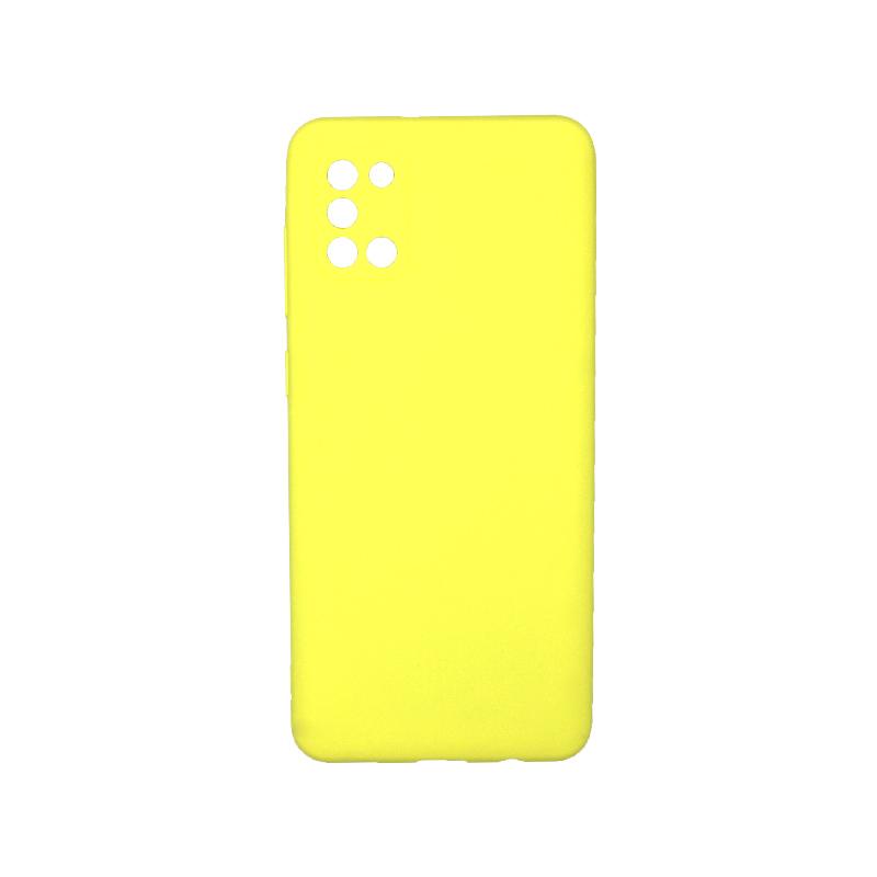 Θήκη Samsung Galaxy A31 Σιλικόνη κίτρινο